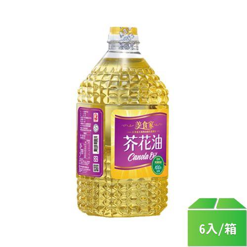 美食家-2L芥花油2.0L/罐6入/箱