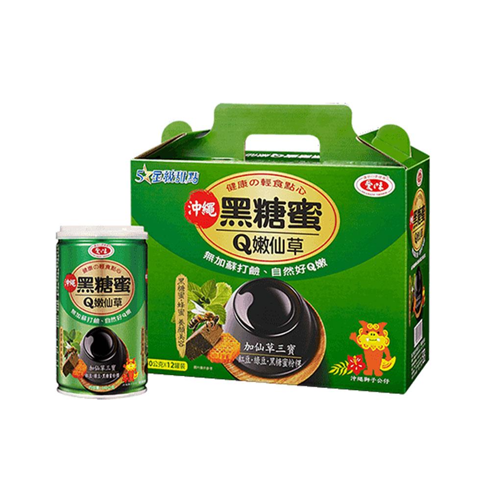 愛之味-黑糖仙草340g/罐(12入/箱)