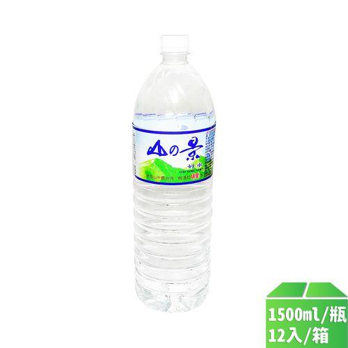 百佳泉-埔里山景純水1500ml/瓶12入/箱