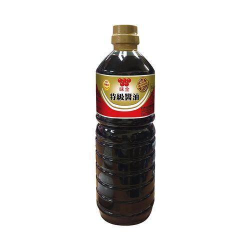 味全-特級醬油(非基改)1000ml/瓶