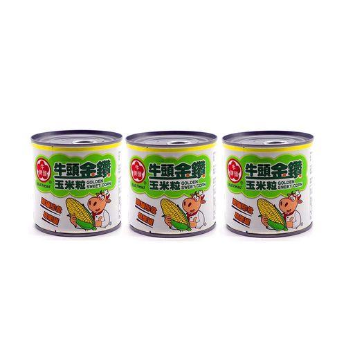 牛頭牌-金鑽玉米粒340g/組