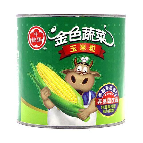 牛頭牌-一號玉米粒2.1kg/罐