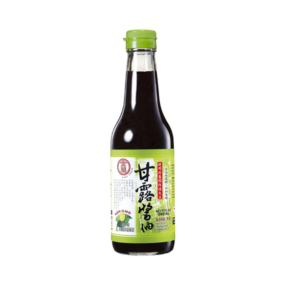 金蘭-甘露醬油(非基改)500ml/瓶