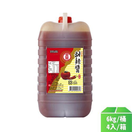 金蘭-甜辣醬6kg/桶4入/箱