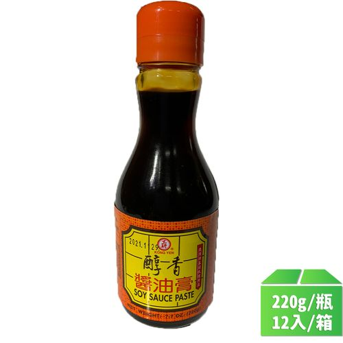 工研-醇香醬油膏220g/瓶12入/箱