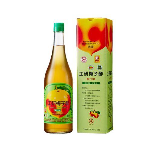 工研-健康梅子醋750ml/瓶