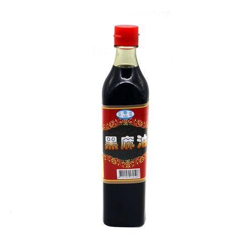 香山-黑麻油500ml/瓶