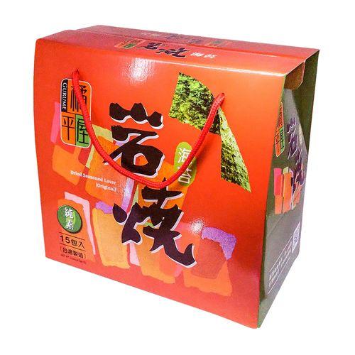 橘平屋-岩燒海苔禮盒15包入/盒