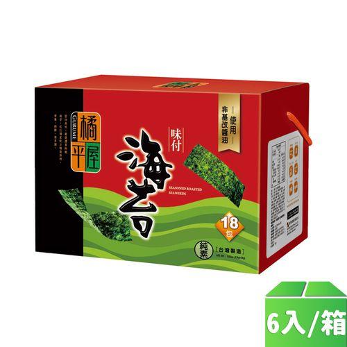 橘平屋-8切海苔禮盒6入/箱