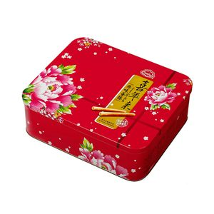 喜年來-大方蛋捲禮盒384g/盒(4支x6包)