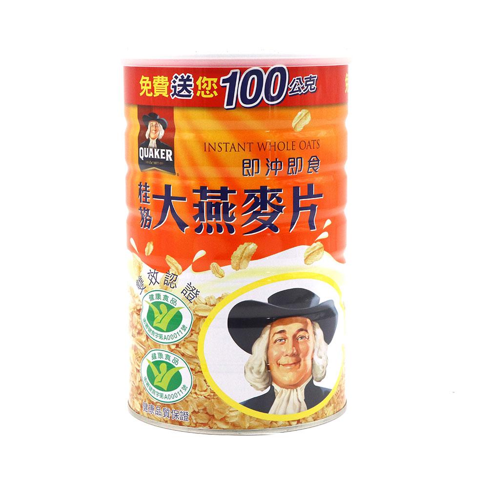 桂格-大燕麥片雙認證700g/瓶