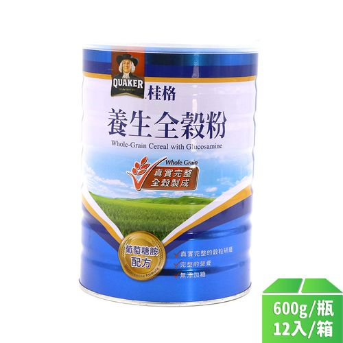 桂格-養生全榖粉葡萄糖胺600g/瓶12入/箱