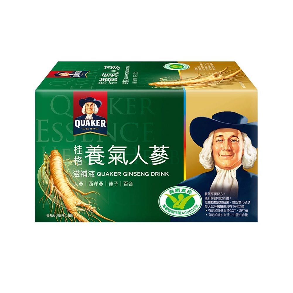 桂格-養氣人蔘60mlx6入/盒