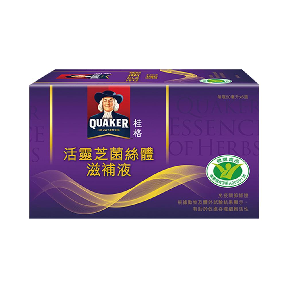 桂格-活靈芝60ml*6入/盒