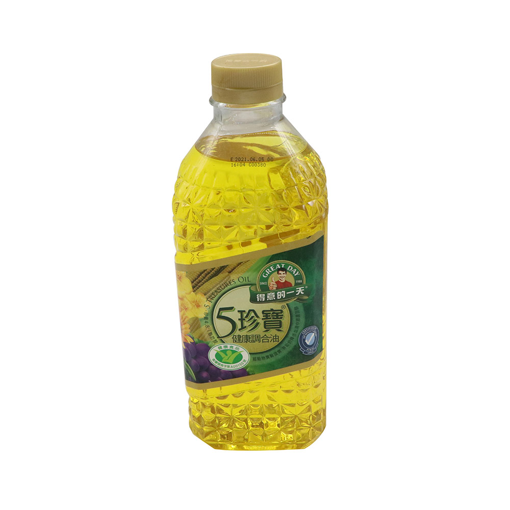 得意-五珍寶健康調合油1.58L/瓶