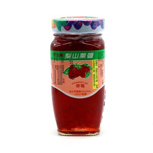 梨山-草莓果醬(小)260g/瓶