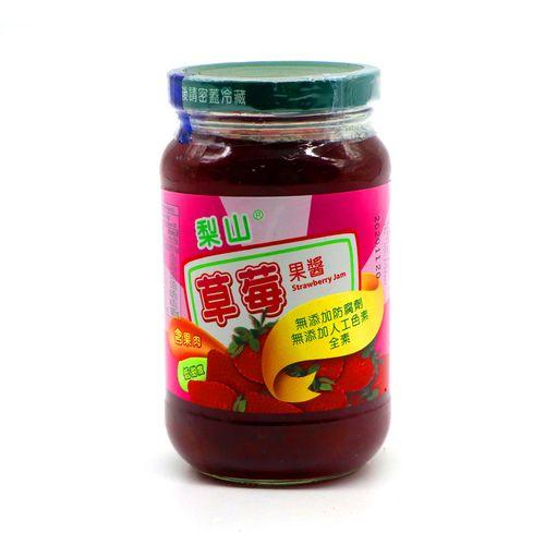 梨山-草莓果醬(大)430g/瓶