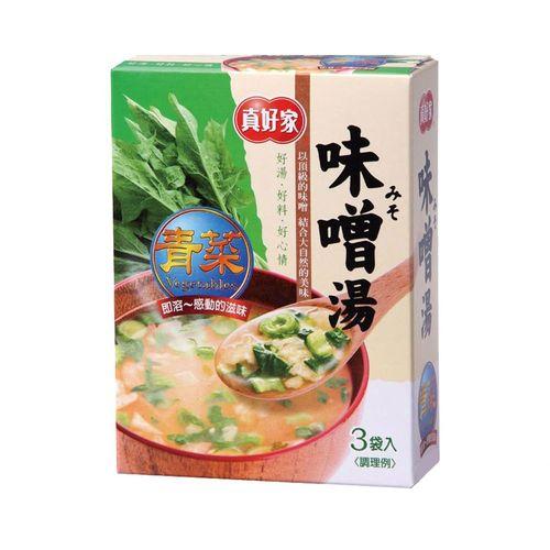 真好家-味噌湯(柴魚)45g/盒