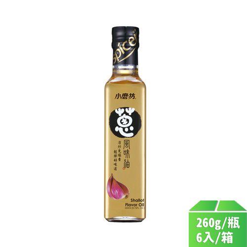 小磨坊-蔥風味油260ml/瓶6入/箱