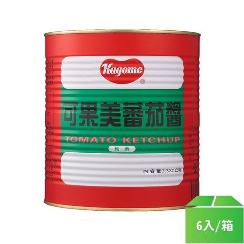可果美-蕃茄醬(鐵罐)3.3kg/桶 6入/箱