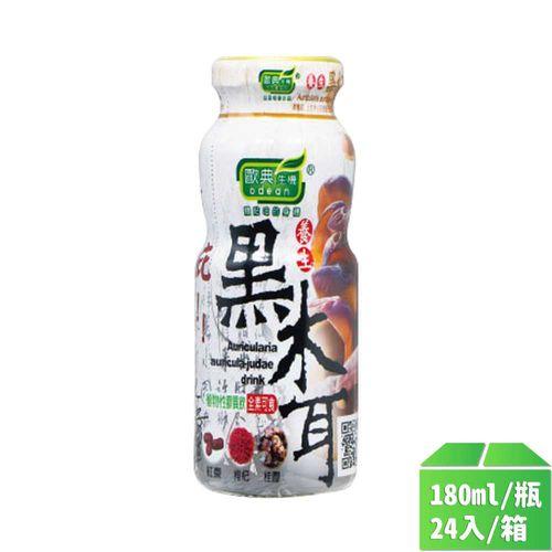 歐典生技-歐典生機養生黑木耳6入180ml*24罐