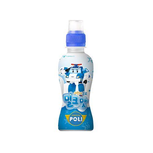 韓國波力救援小隊-乳酸風味飲料(牛奶口味)200ml/瓶