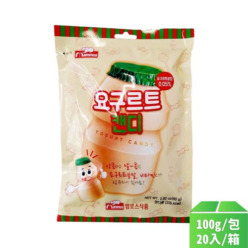 韓國Mammos-乳酸(養樂多)糖100g/包20入/箱