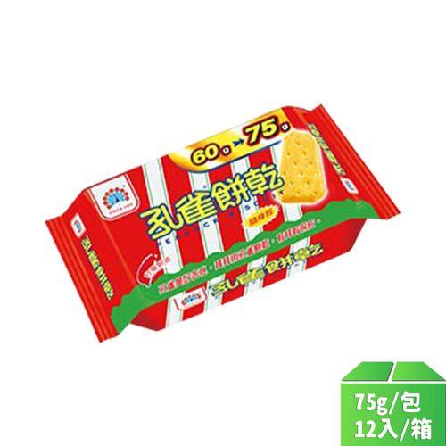 乖乖-孔雀餅乾(隨手包)75g/包12入/箱