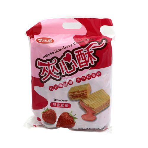 咪咪樂-(量販)草莓夾心/袋