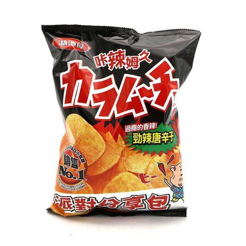 湖池屋-勁辣唐辛子(派對包)153g/袋