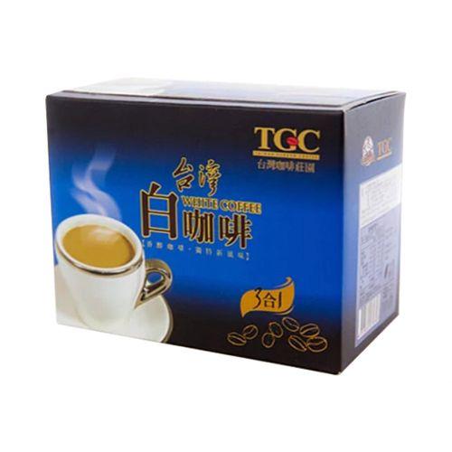 台灣古坑-3合1白咖啡(藍盒)22gx10包/盒