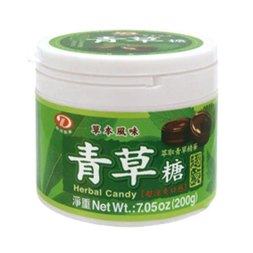 綠得-青草喉糖200g/罐