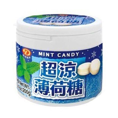 綠得-超涼薄荷糖200g/罐